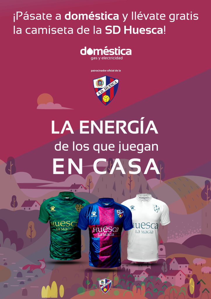 Regalo Camiseta SD Huesca