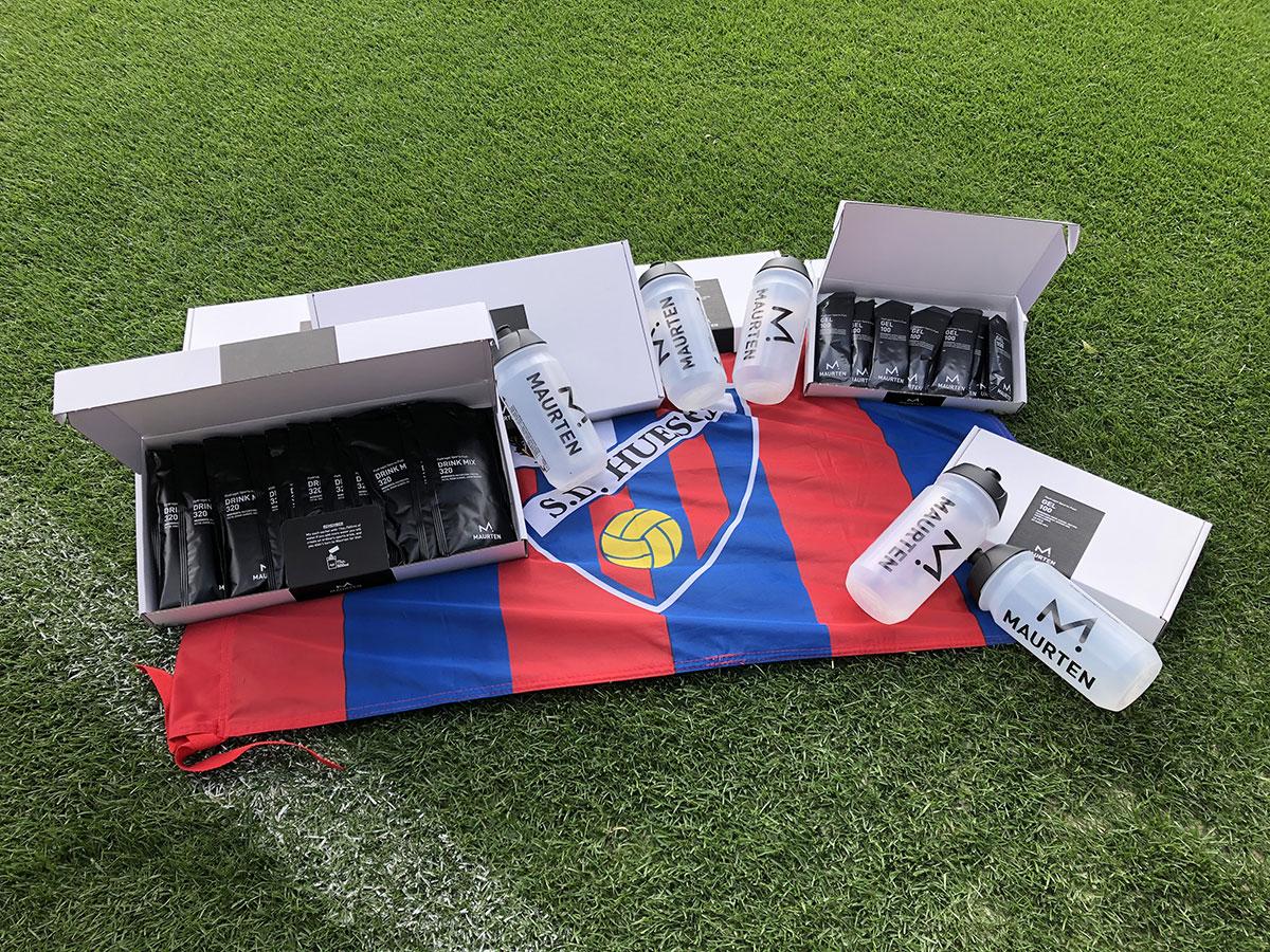 Descuento directo de MAURTEN a los fans de las SD Huesca