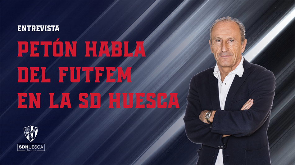 José A.Martín Otín «Petón» habla del fútbol femenino