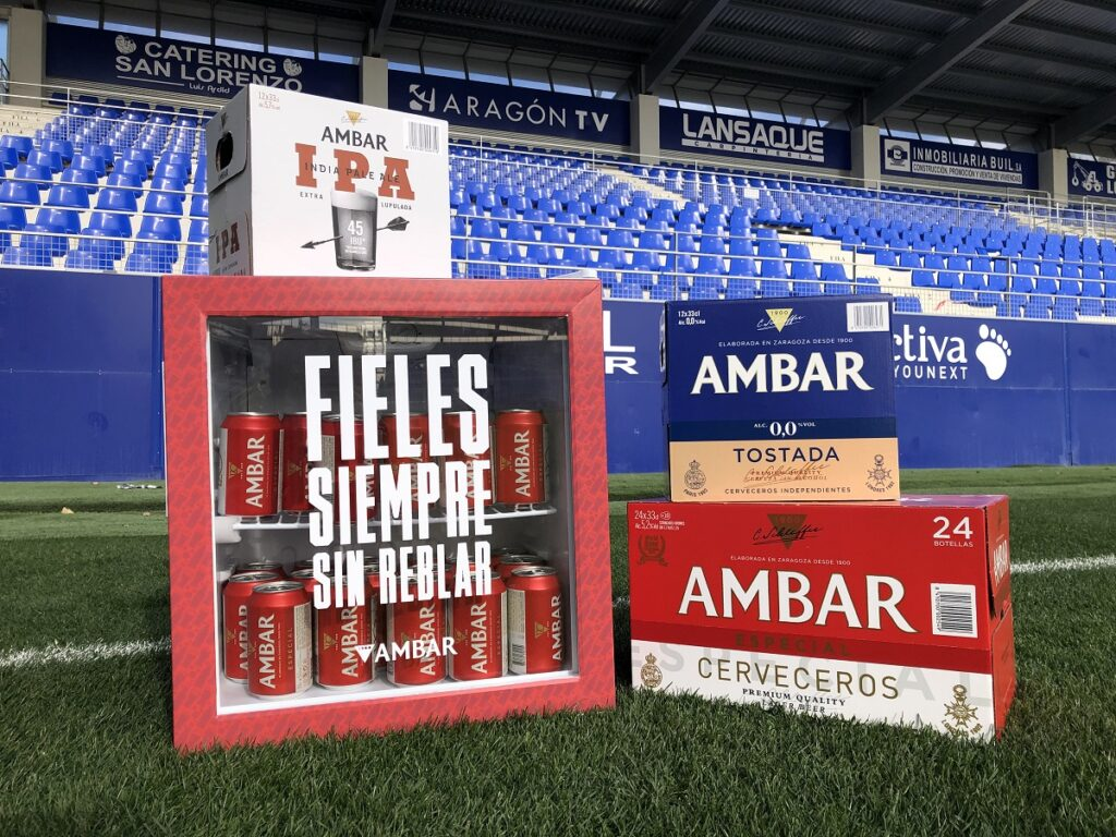 Sorteo nevera AMBAR fan club sd huesca