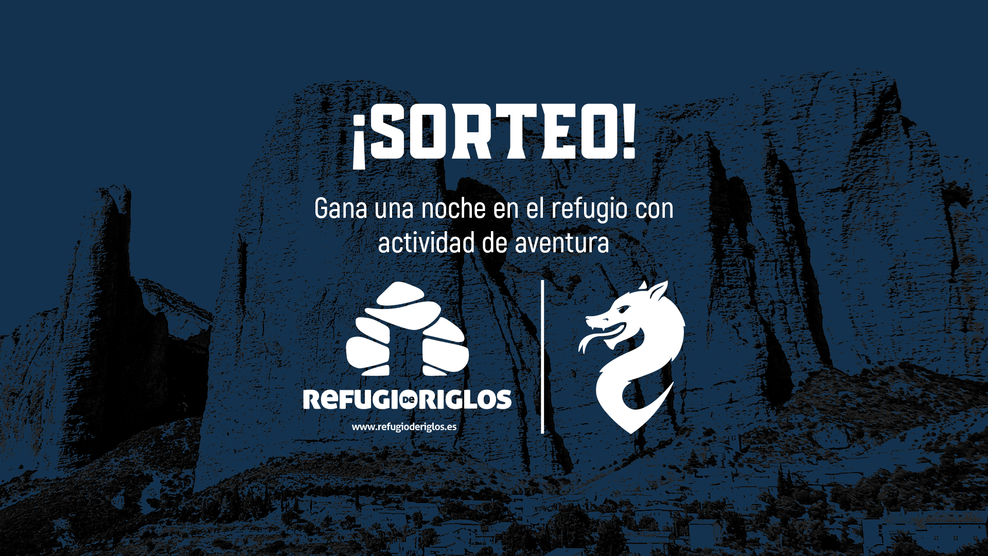 Carlos Soldevilla, ganador de la estancia en el Refugio de Riglos