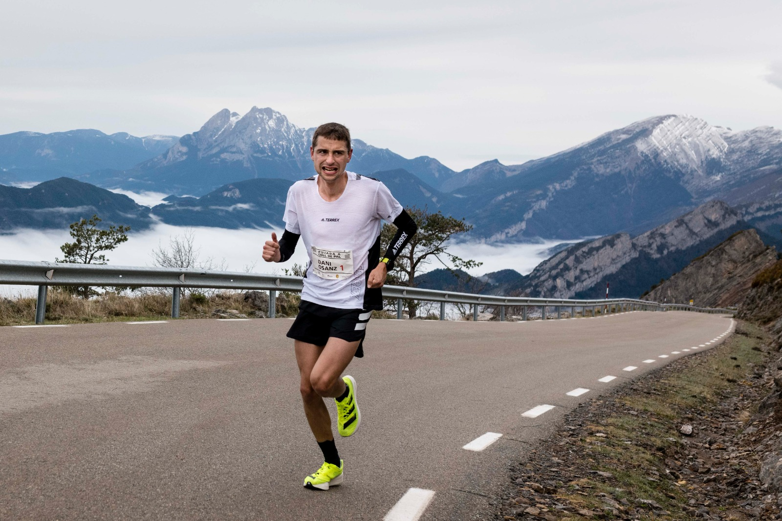 Dani Osanz: nacido para correr entre montañas