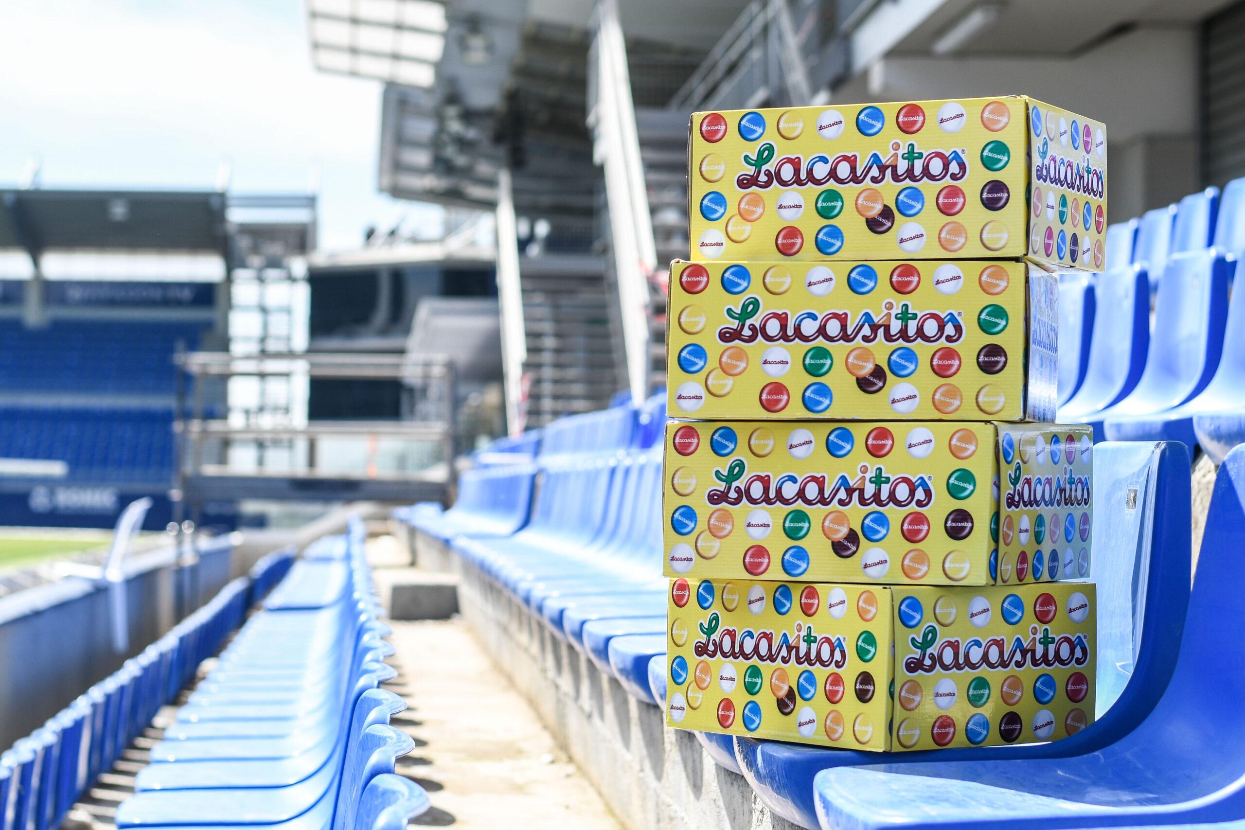 Chocolates Lacasa obsequia a nuestros socios más jóvenes con un segundo lote de sus productos estrella