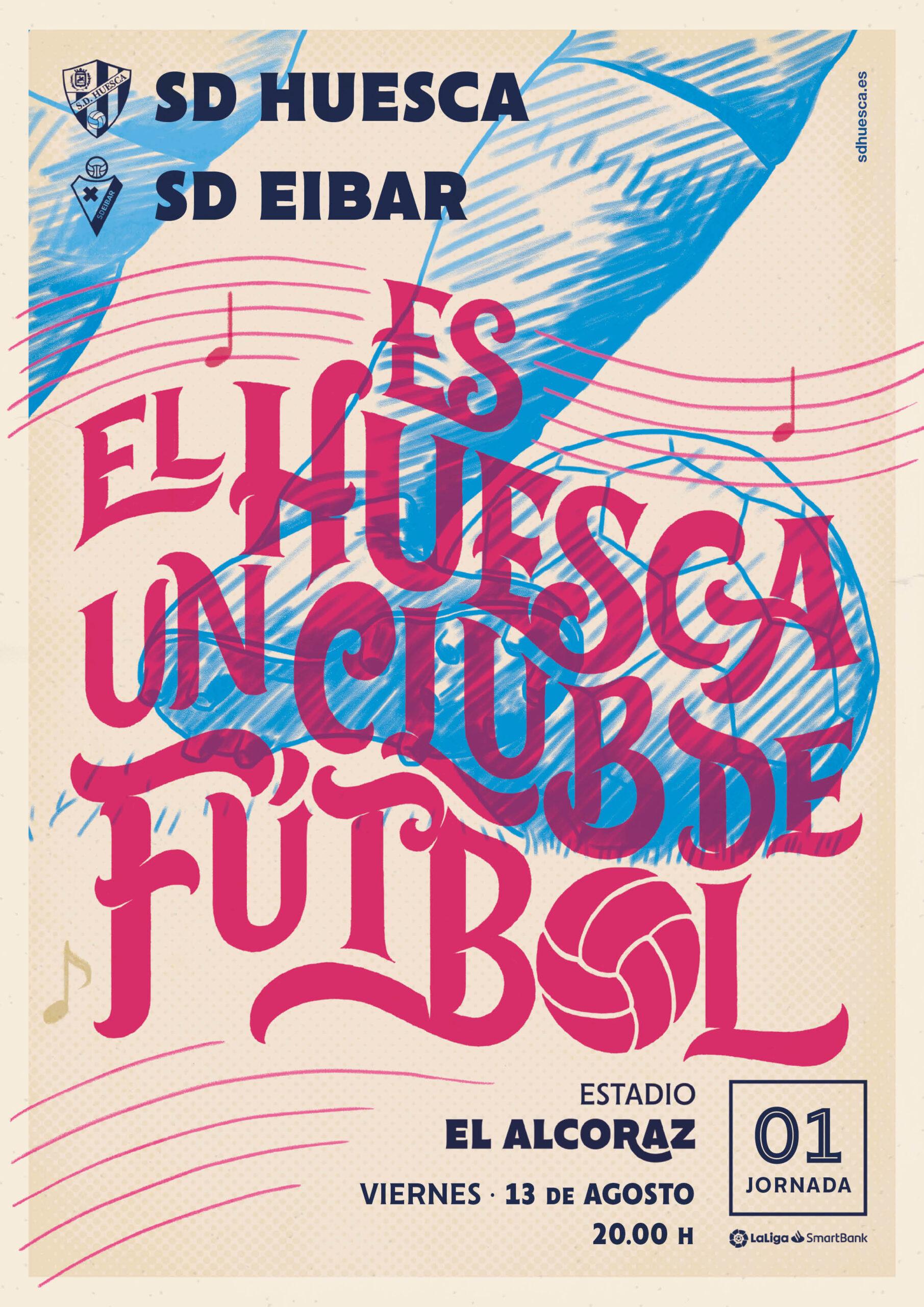J1: SD Huesca - SD Eibar