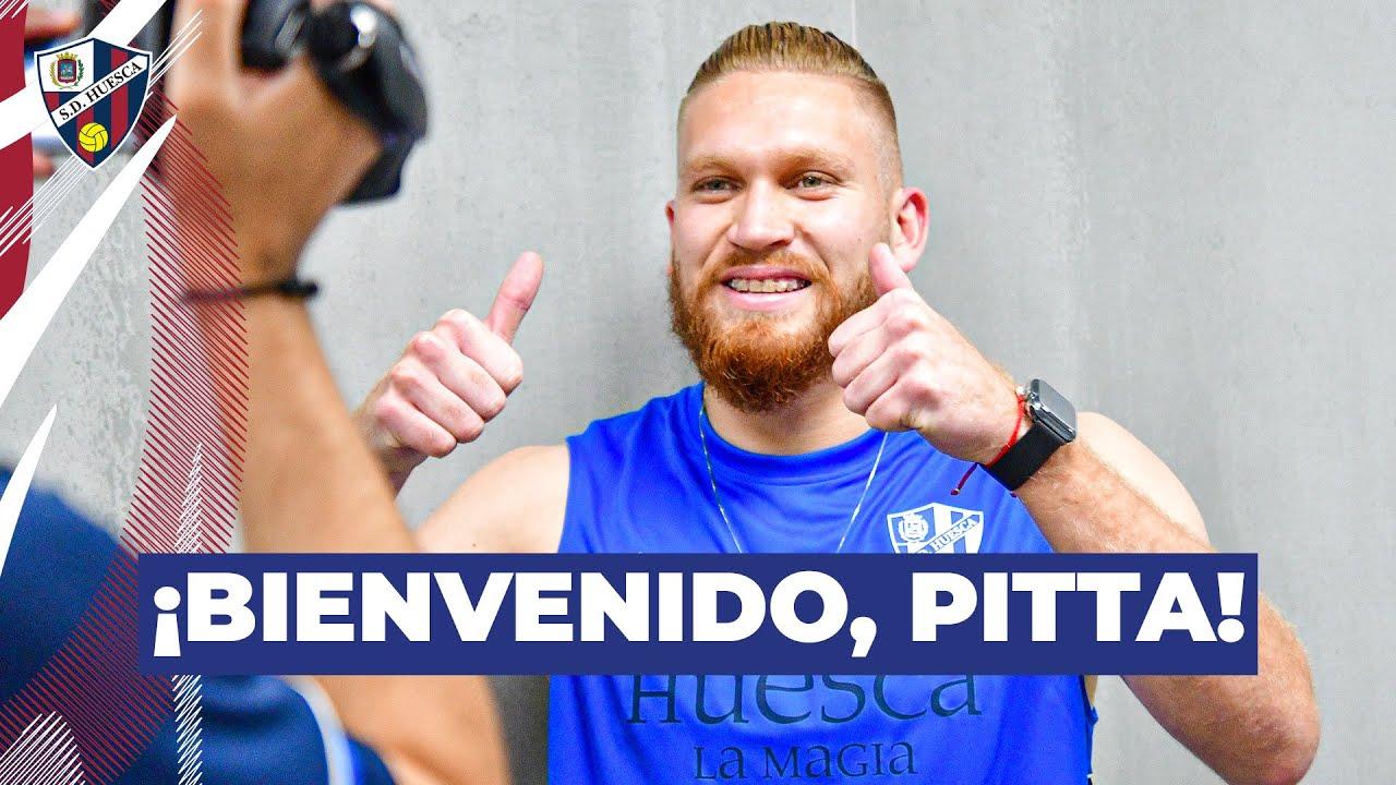 Las primeras horas de Isidro Pitta en la SD Huesca, desde dentro