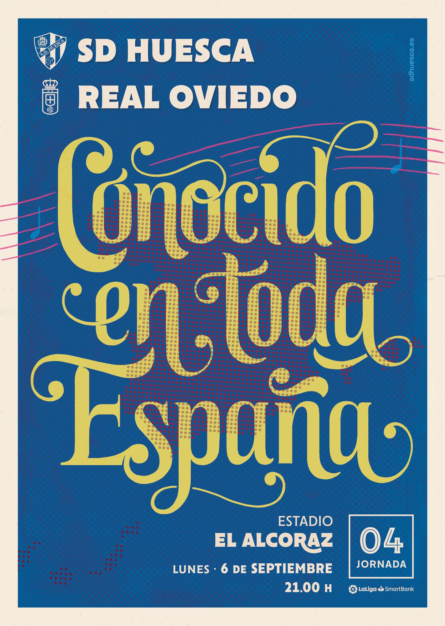 J4: SD Huesca - Real Oviedo