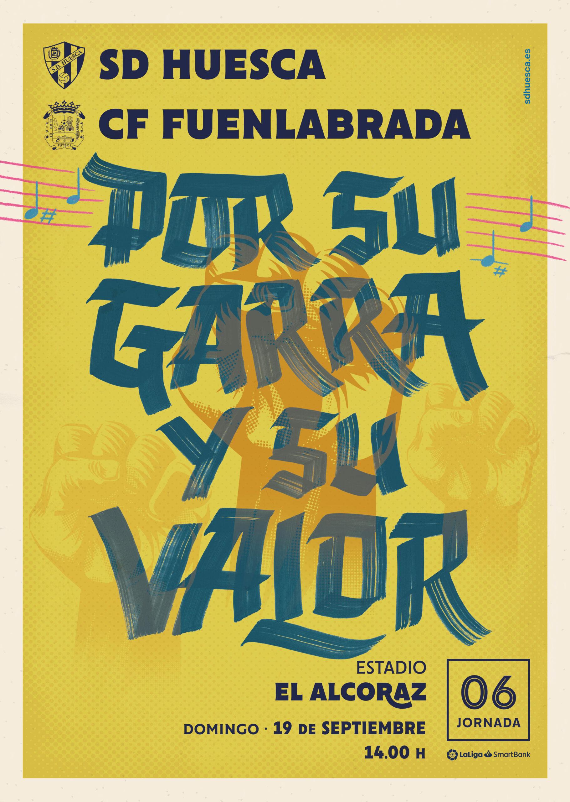 J6: SD Huesca - CF Fuenlabrada