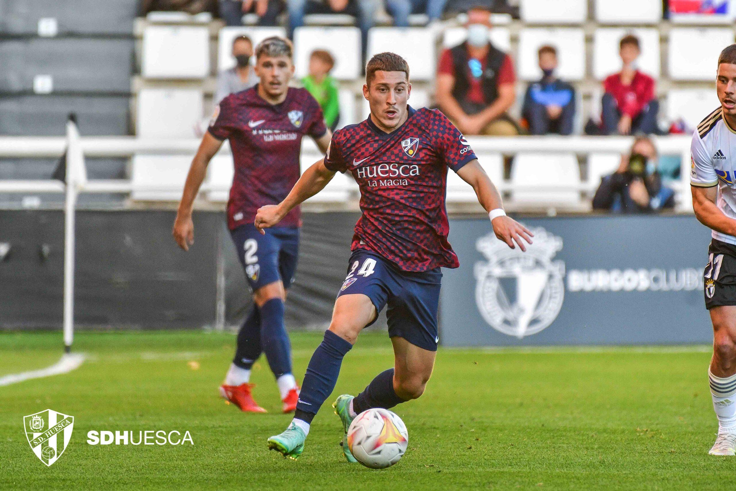 Galerías azulgranas: Burgos CF – SD Huesca